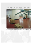 Impermiable Systems Corrosion Resistant Floors Walls-Brochure