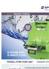 Fendall - Model 1000 - Pure Flow Eyewash Station- Brochure