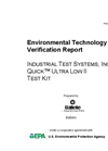 Quick™ Ultra Low II Test Kit: Verification Report