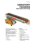 High Speed Vibratory Feeder