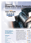 Permanent Magnetic Drum Separators