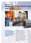 Permanent Scrap Drum Separator, P-Rex Brochure