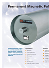 Permanent Magnetic Pulleys Brochure