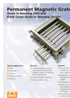 Eriez - Model Kwik - Magnetic Grate Brochure