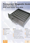 Drawer Grate (D) & Kwik Clean Drawer Grate (KCD) Brochure