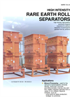 Rare Earth Roll Separators Brochure