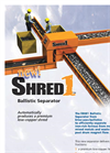 Shred1 Ballistic Metal Separator Brochure
