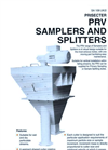 PRV Samplers and Splitters Brochure