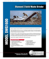 Diamond Z - SWG1600 - Traditional Stationary Garbage Shredding Systems Brochure