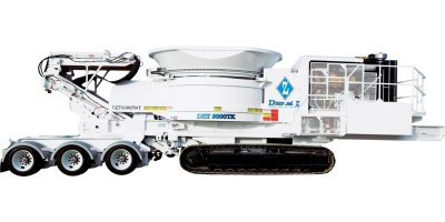 Diamond Z - Model 8000 / 8000TKT - Track-Mounted Tub Grinder