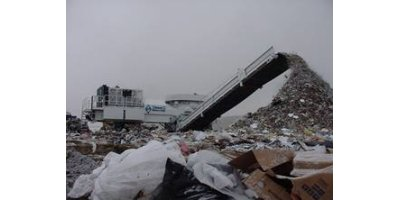 Diamond Z - Model SWG1600 - Traditional Stationary Garbage Shredding Systems
