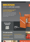 Brickman 300 Cardboard Product Sheet