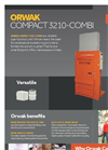 ORWAK - Model COMPACT 3210-COMBI - Baler for Cardboard and Plastic - Brochure