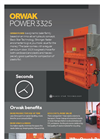 ORWAK - Model POWER 3325 - Dynamic Baler - Brochure