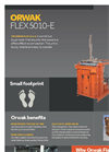 ORWAK - Model FLEX 5010-E - Small Tough Baler - Brochure