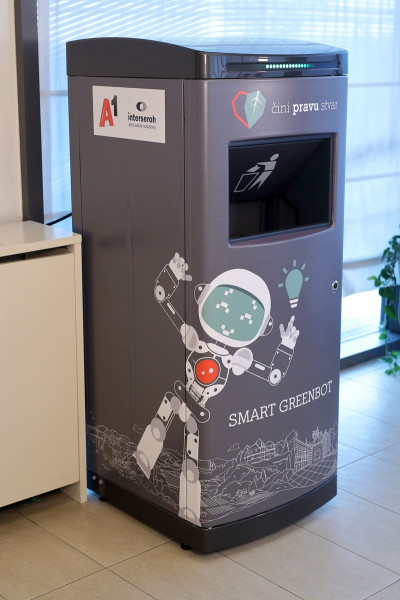 A1 Introduces Smart Communicating Waste Bins in Croatia