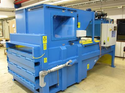 Presona - Model K - Heavy Duty Stationary Compactor for Rational Waste Handling