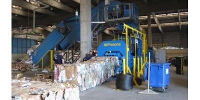 Presona - Model DH & XH - Cardboard Balers - Paper Baler - Plastic Baler - Waste Baler