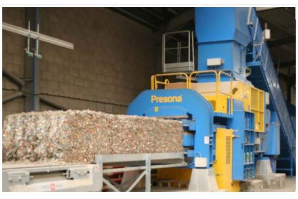 Presona - Model LP 50 EHF - Prepress Technology Baler