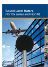 Nor13x series and Nor140 Sound Level Meters Brochure