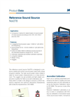 Norsonic Nor278 Reference Sound Source Brochure