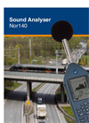 Norsonic Nor140 Precision Handheld Sound Analyser - Brochure