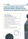 Norsonic Nor133/Nor136 Precision Vibration Meters Brochure