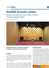Case study - Nor848A Finding Acoustical Weak Points in Room Dividing Modular Walls