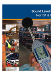 Nor131 and Nor132 Sound Level Meter Brochure
