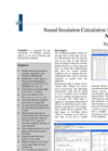 NorBuild - Version Nor1028 - Sound Insulation Calculation Software - Brochure