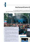 Nor1037 NorConcertControl Software - Brochure