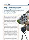 Noise Excitation Equipment for Building Acoustics Measurements - Brochure