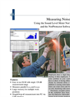 Measuring Noise at Work - Application Note - Brochure