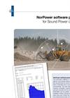 NorPower Software Package for Sound Power detection - Brochure