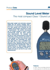 Norsonic Nor103 Sound Level Meter - Brochure