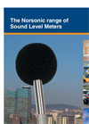 Norsonic range of Sound Level Meters - Brochure