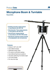 Norsonic - Model Nor265 - Microphone Boom / Turntable Basic Unit - Brochure