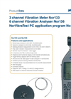 NorVibraTest PC application program Nor1038 - Brochure