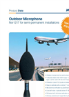 Norsonic - Model Nor1217 - Outdoor Microphone - Brochure