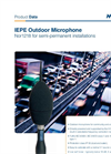 Norsonic - Model Nor1218 - IEPE Outdoor Microphone  - Brochure