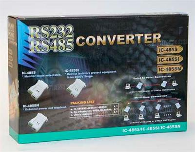 Norsonic - Model Nor4510 RS232 to RS485 - Converter