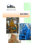 Granulators Model BAT 1200 U Brochure