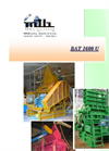 Granulators Model BAT 1600 U Brochure