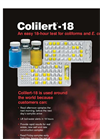 Colilert -18 - Coliform and E. coli Testing Brochure