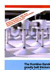 Gravabelt - Gravity Belt Thickener Brochure