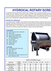 HydroCal - Rotary Screen Brochure