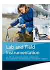 Lab and Field Instrumentation Brochure
