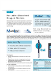 Multi 3410 - Portable Dissolved Oxygen Meters  Brochure