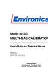 Series 6100 User/Service Manual Brochure