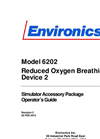 Environics - Model 6202 - Reduced Oxygen Breathing Device 2 Manual